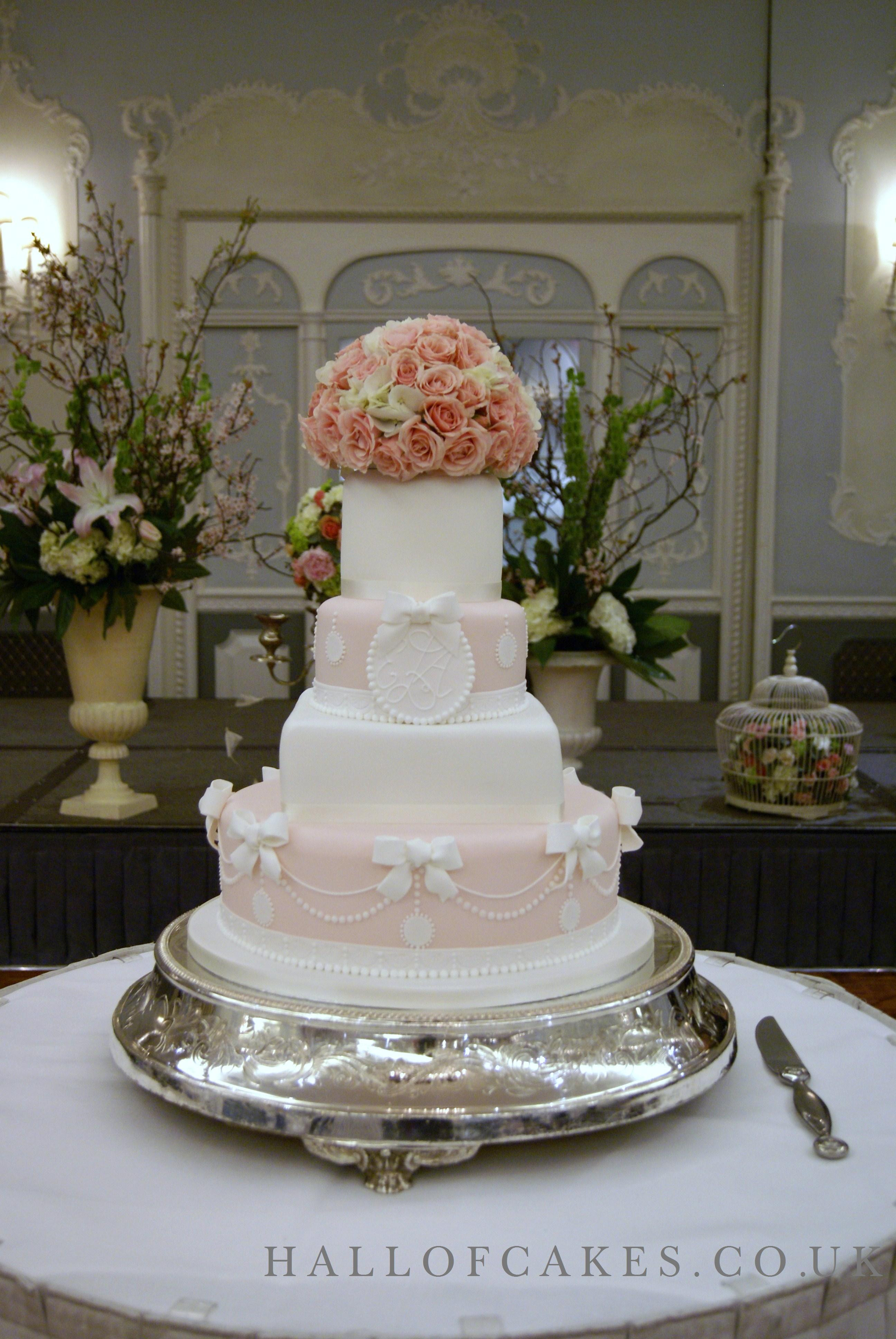 Designer Wedding Cakes  Luxury wedding cakes by cake designer Nicola Hall part of