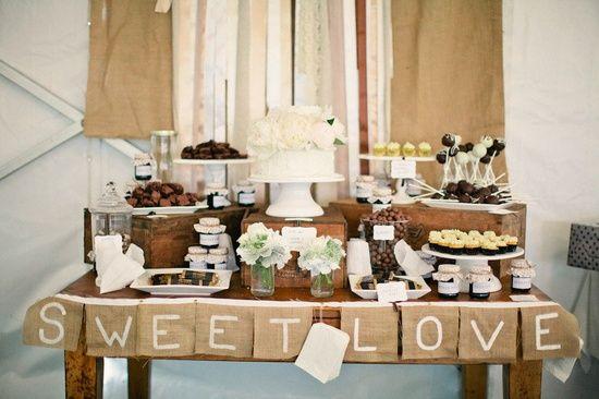 Dessert Table Weddings  16 Rustic Wedding Dessert Table Ideas Wedding