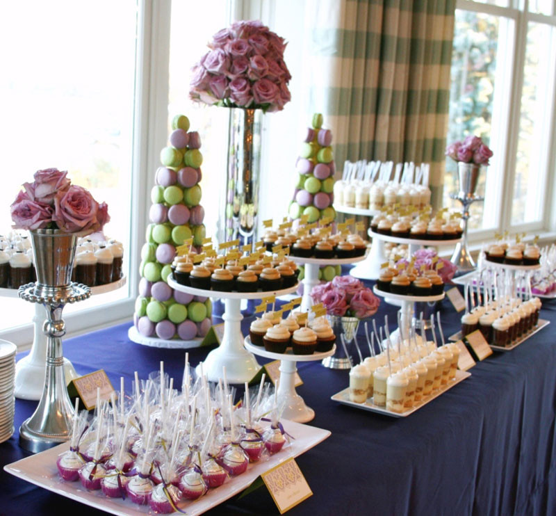 Dessert Table Weddings  Cocoa & Fig Independent Wedding Association