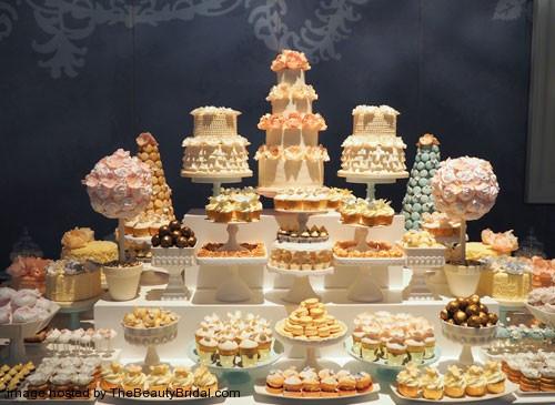 Dessert Table Weddings  OMG Luxury wedding cake in The UAE
