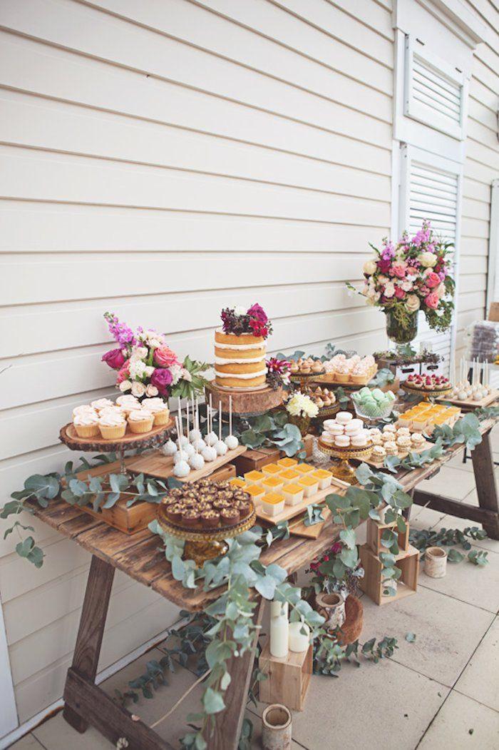 Dessert Table Weddings  Wedding Dessert Table Ideas MODwedding