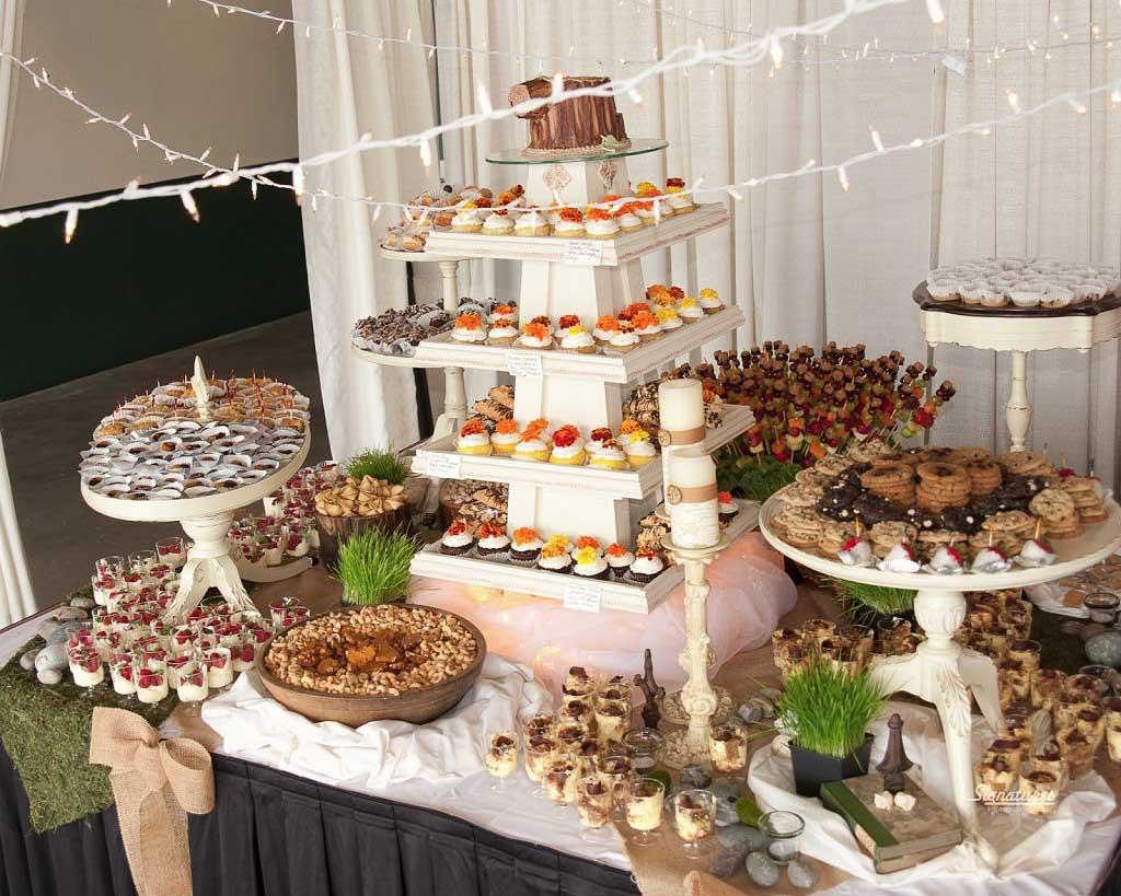 Dessert Wedding Reception  Wedding Buffet Ideas for The Perfect Reception Food Menu