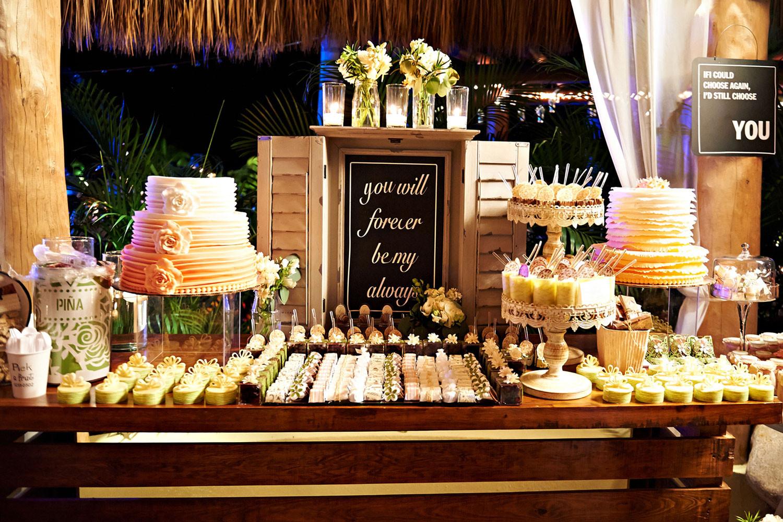 Dessert Wedding Reception  Wedding Reception Tips for Having a Dessert Station