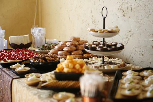 Dessert Wedding Reception  10 Best of Simple Church Wedding Receptions