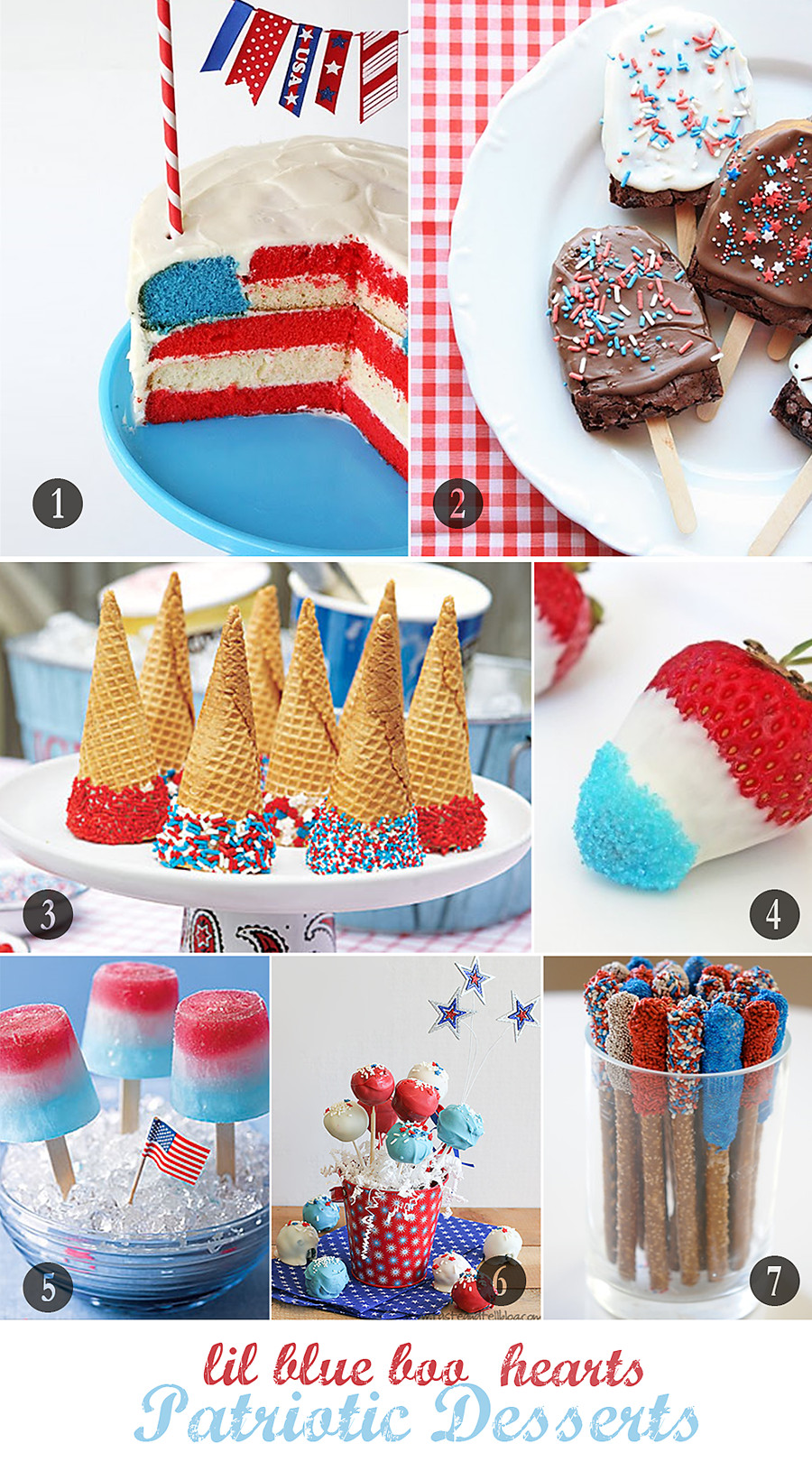 Desserts For 4Th Of July Party  Patriotic Dessert Ideas
