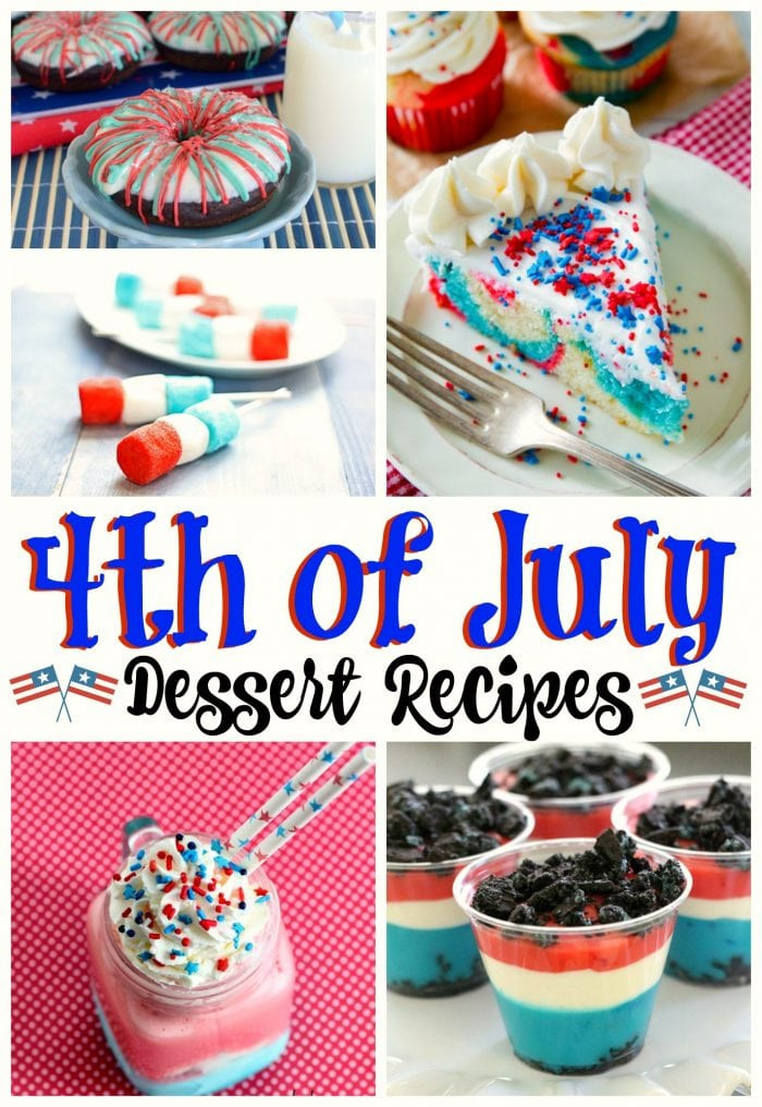 Desserts For 4Th Of July Party  Desserts For Fourth of July Party