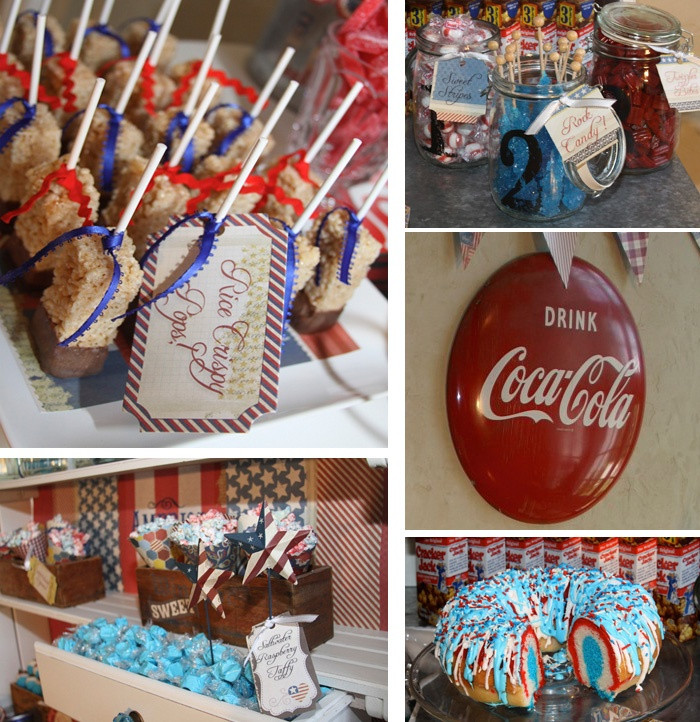 Desserts For 4Th Of July Party  14 best images about 4th of July on Pinterest