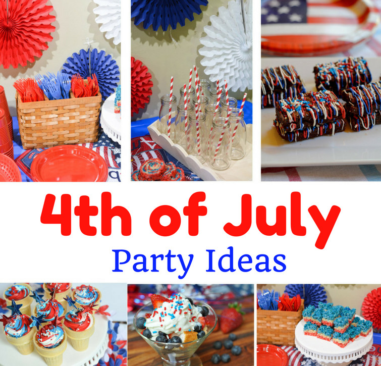 Desserts For 4Th Of July Party  4th of July Party Decoration & Dessert Ideas Mommy s