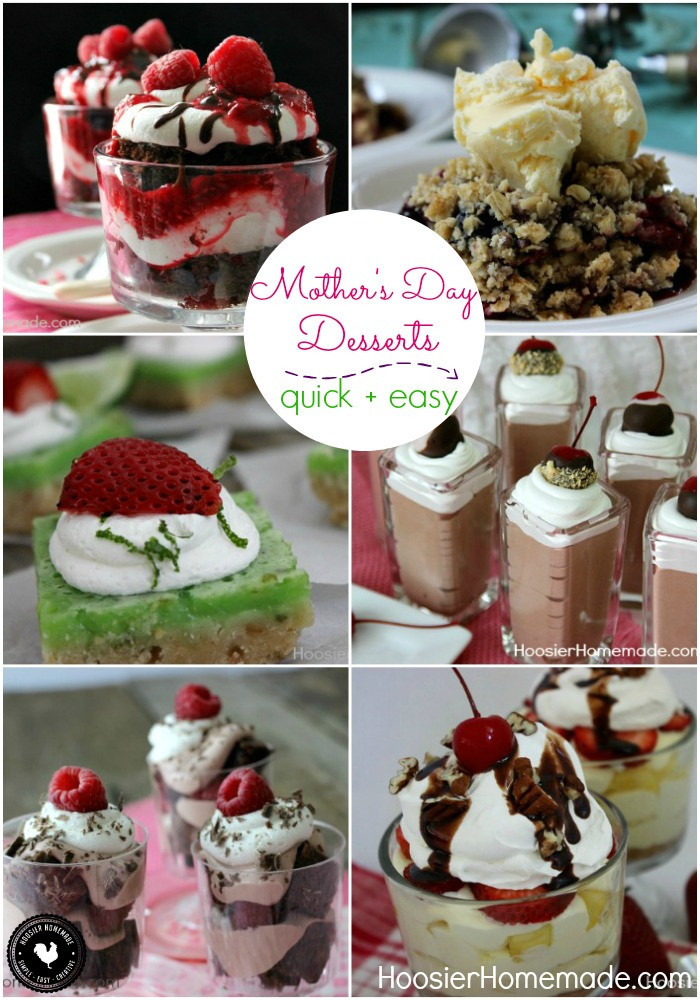 Desserts For Mothers Day  Mother s Day Desserts Hoosier Homemade