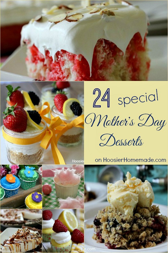 Desserts For Mothers Day  Mother s Day Brunch Menu