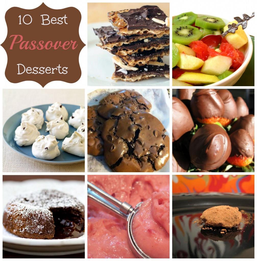 Desserts For Passover  10 Best Passover Desserts