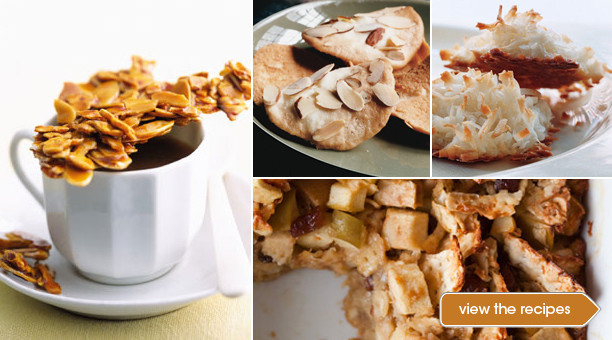 Desserts For Passover  Bakery Product Recipes for bread