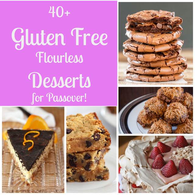 Desserts For Passover  40 Flourless Gluten Free Desserts for Passover What Jew