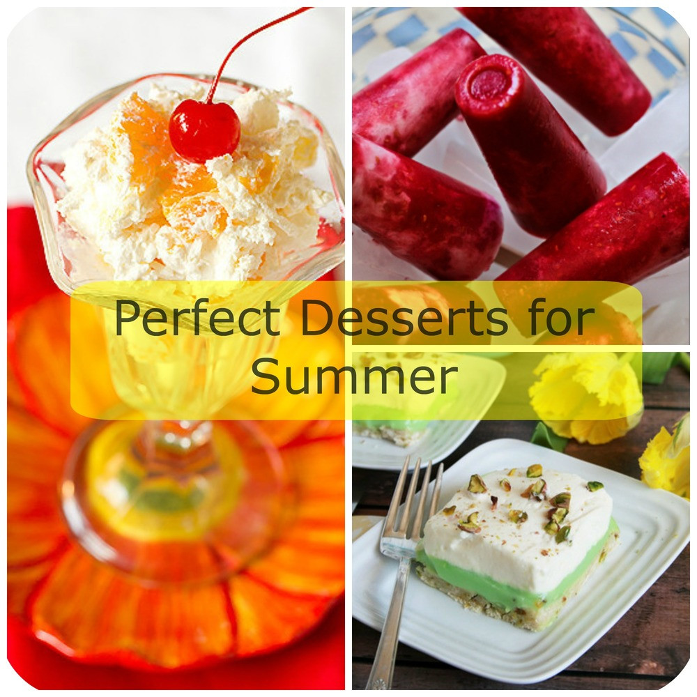 Desserts For Summer  23 Perfect Desserts for Summer