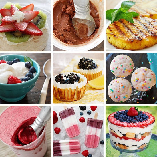 Desserts For Summer  Skinny Summer Desserts
