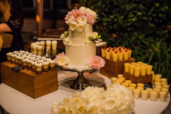 Desserts For Wedding Receptions  Top 4 Vegan Wedding Caterers In The U S