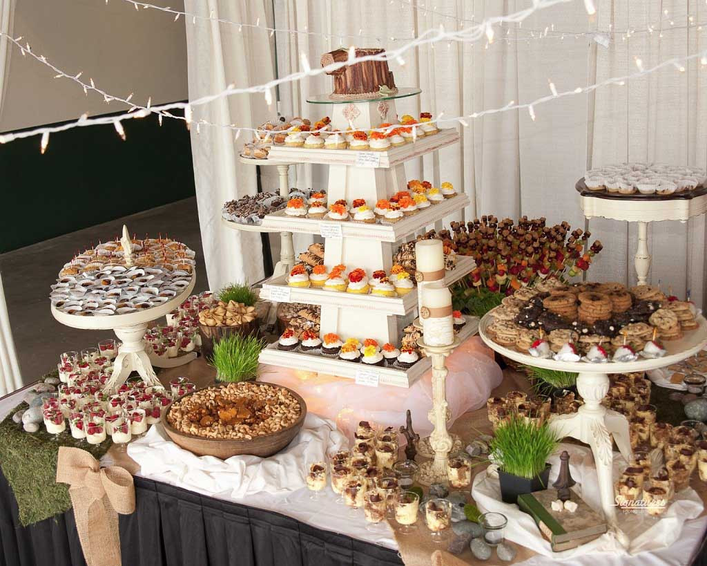 Desserts For Wedding Receptions  Wedding Buffet Ideas for The Perfect Reception Food Menu