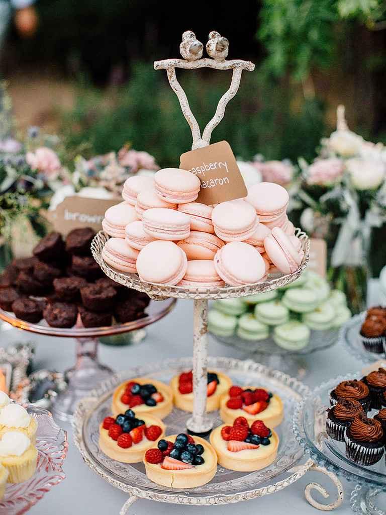 Desserts For Wedding Receptions  20 Creative Wedding Dessert Buffet Ideas