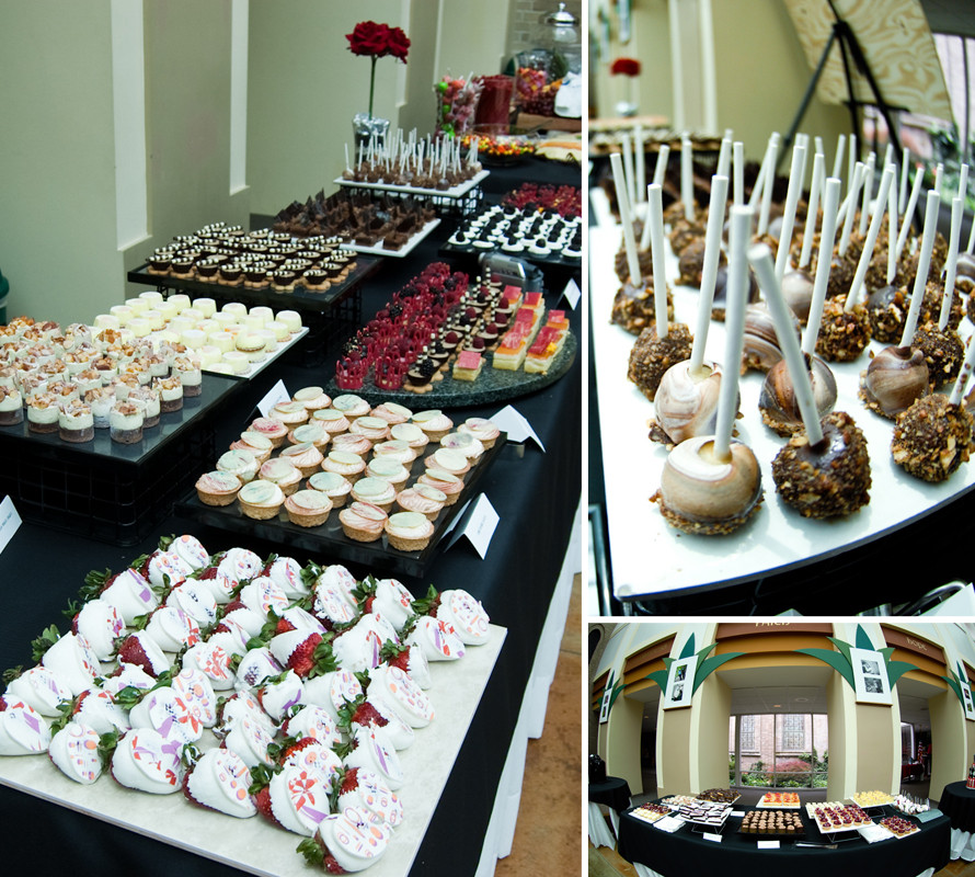 Desserts For Wedding Receptions  Dessert Reception our wedding theGAUPERSblog