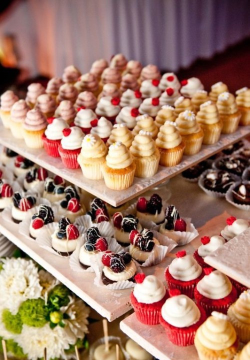 Desserts For Wedding Receptions  Delicious Wedding Mini Desserts
