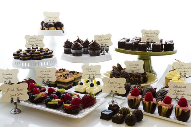 Desserts For Wedding Receptions  The Wedding Series Building a Reception Menu