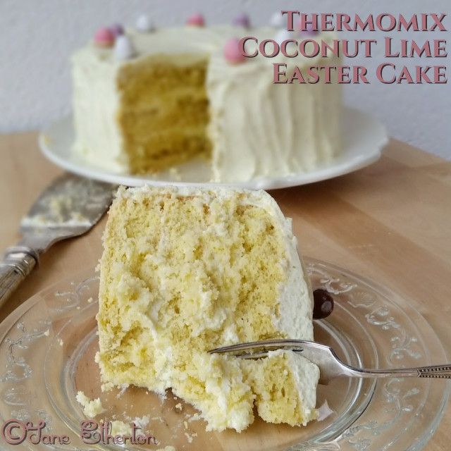Diabetic Easter Recipes  Sugar Free Thermomix Coconut Lime Cake with Natvia