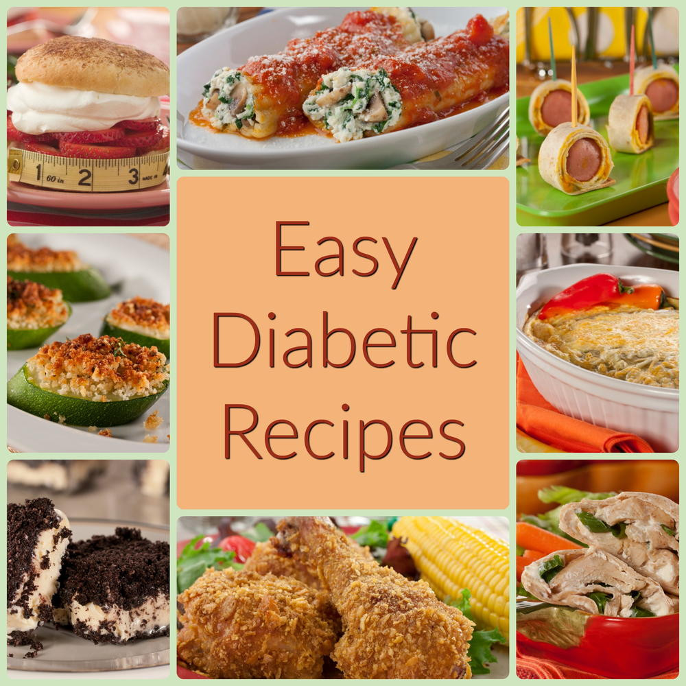 Diabetic Healthy Recipes  Easy Diabetic Cookbook How To Prepare Easy Recipes For
