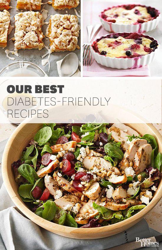 Diabetic Healthy Recipes  Diabetic Main Courses for Summer