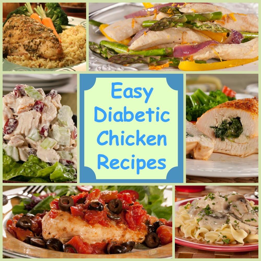 Diabetic Healthy Recipes  Eating Healthy 18 Easy Diabetic Chicken Recipes