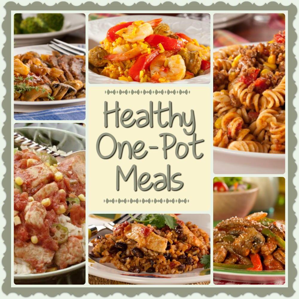 Diabetic Healthy Recipes  Healthy e Pot Meals 6 Easy Diabetic Dinner Recipes