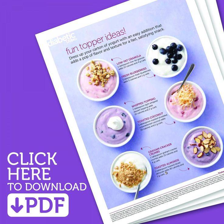 Diabetic Healthy Snacks  159 best Diabetic Snacks images on Pinterest