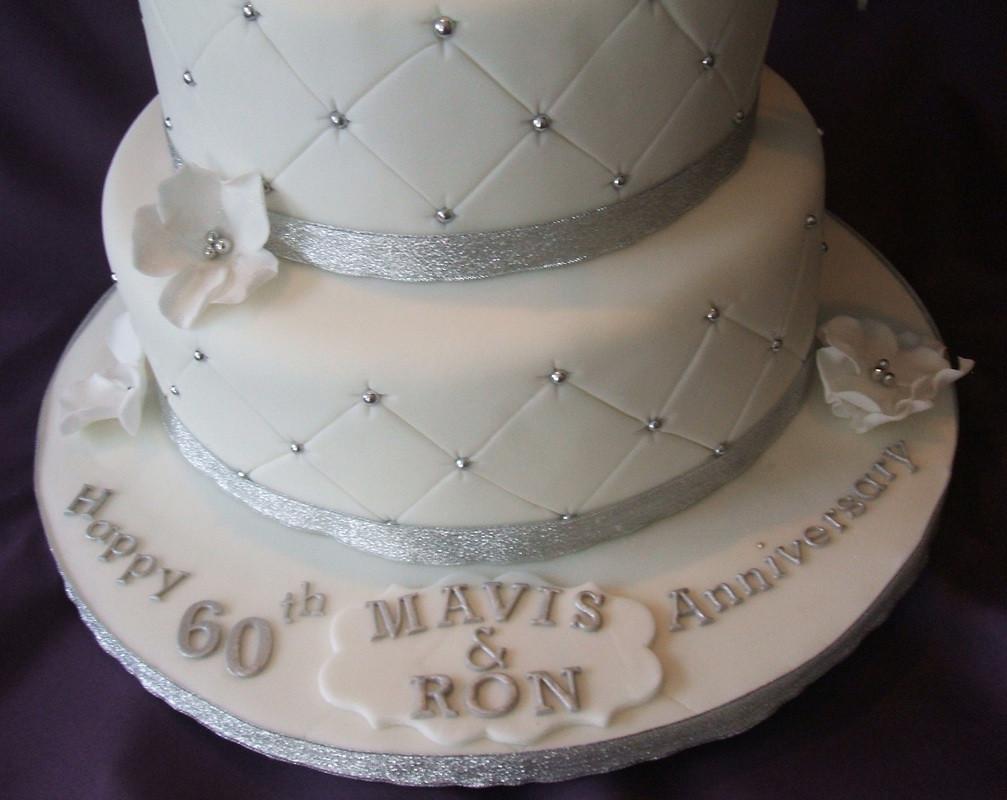 Diamond Wedding Cakes  Anniversary wedding cakes Diamond Cakes of Bramhall