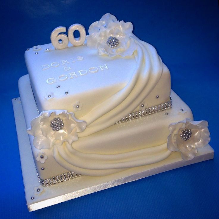 Diamond Wedding Cakes  17 Best images about Diamond Anniversary Cake on Pinterest