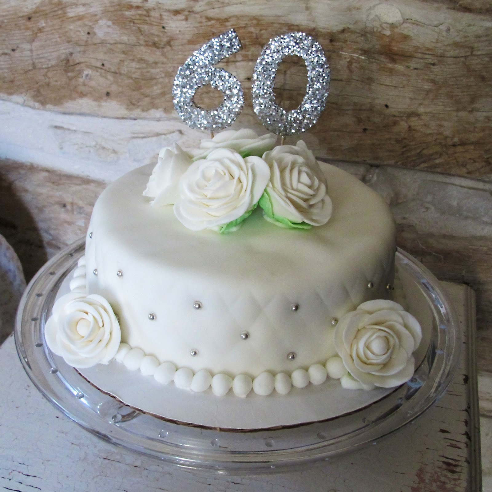 Diamond Wedding Cakes  So Many Sweets 60th Wedding Anniversay Cake