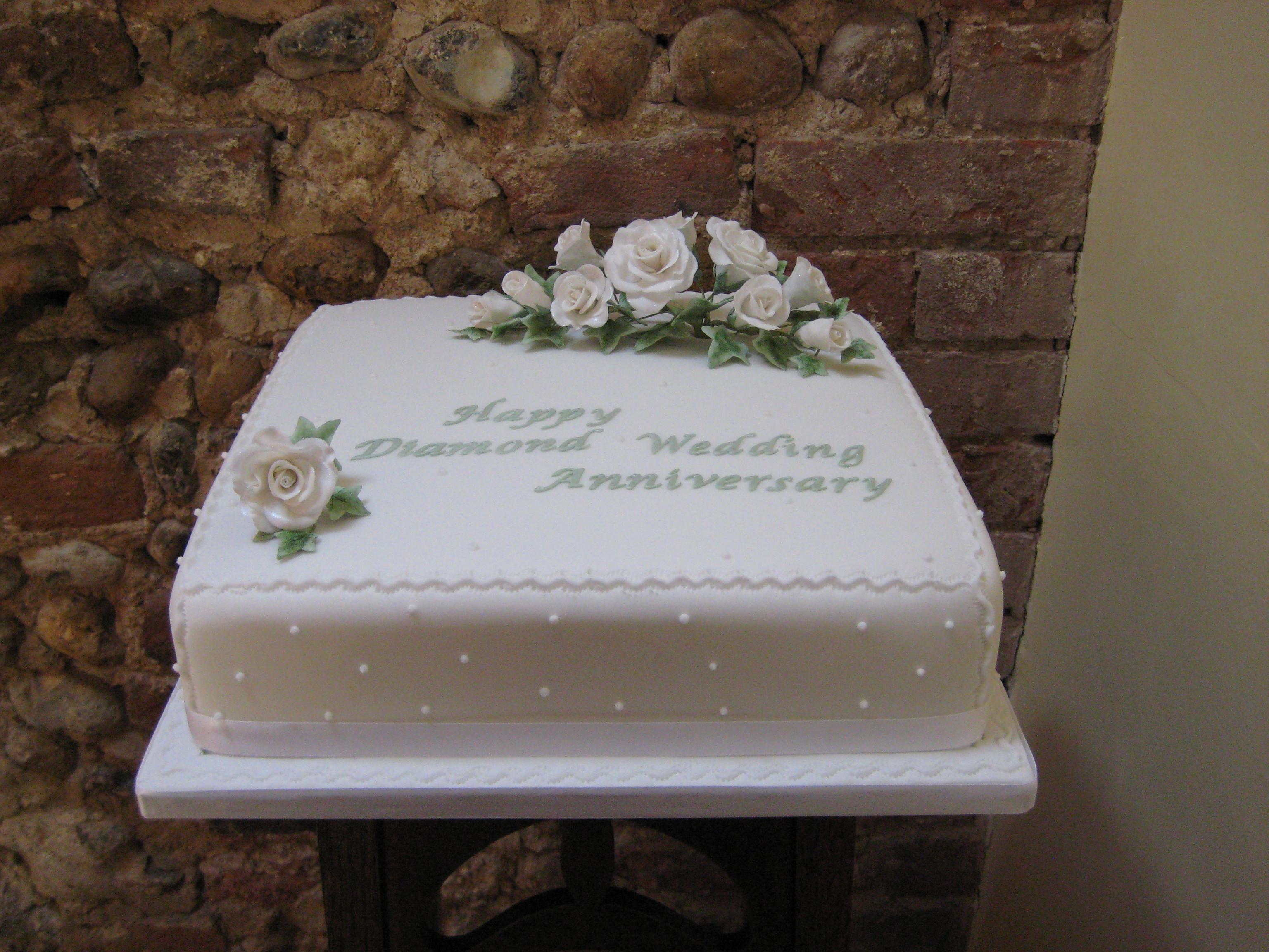 Diamond Wedding Cakes  Cool Wedding Marriage Anniversary Cakes With Names