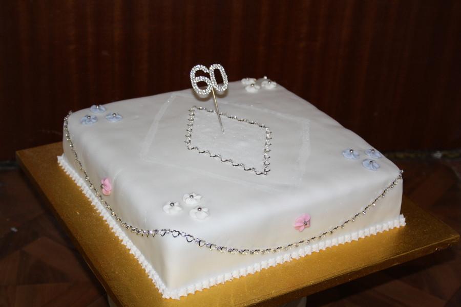 Diamond Wedding Cakes  Diamond Wedding Cake CakeCentral