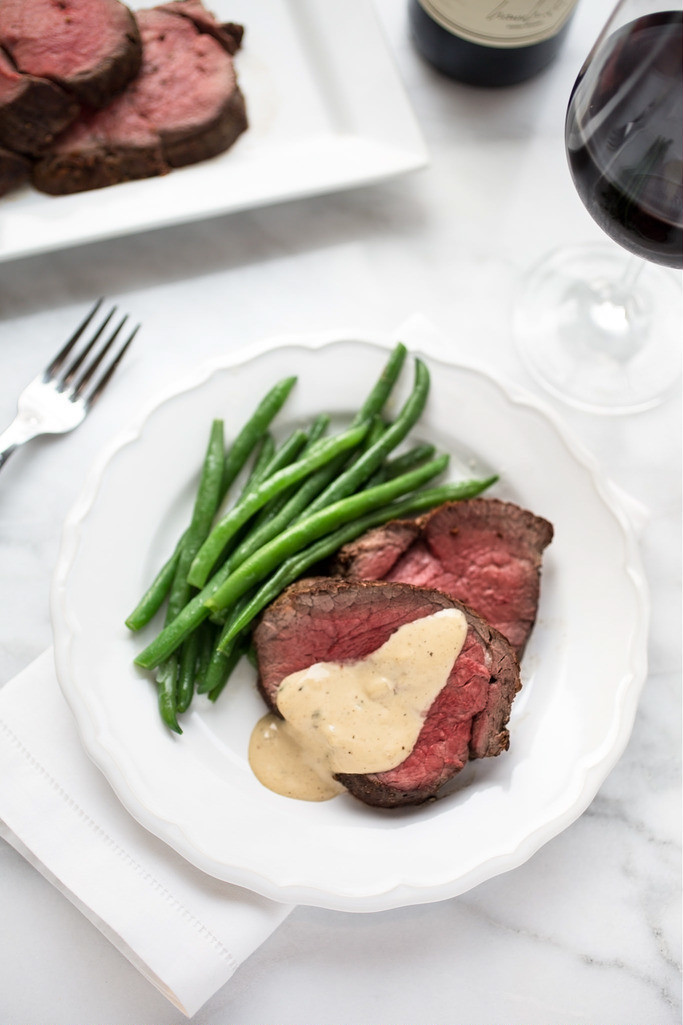Different Easter Dinner Ideas  Beef Tenderloin with Cognac Cream Sauce Delicious And
