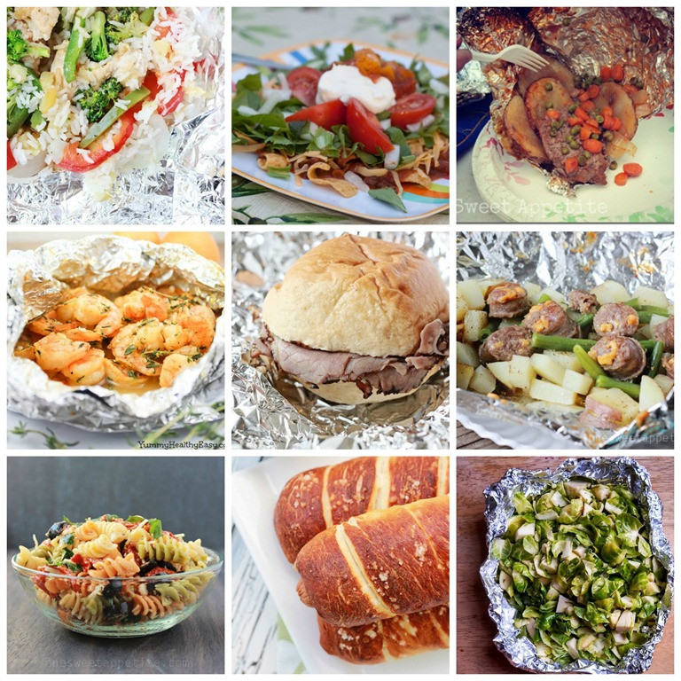 Dinner Ideas For Camping  45 Easy Camping Recipes e Sweet Appetite