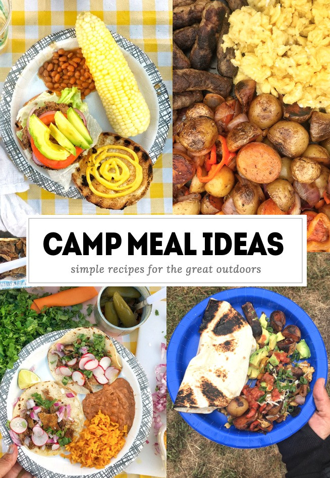 Dinner Ideas For Camping  Currently June 2017