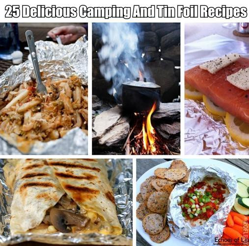 Dinner Ideas For Camping  25 Delicious Camping And Tin Foil Recipes