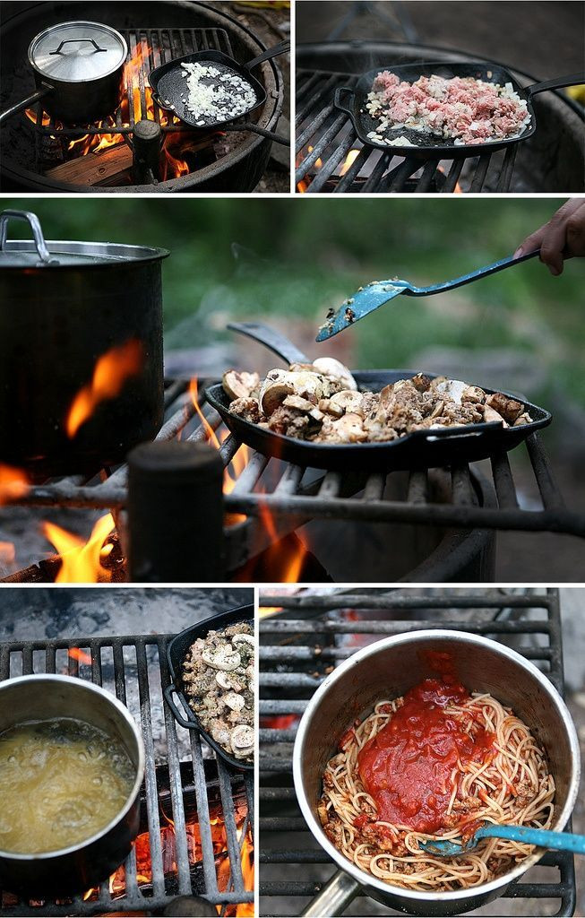 Dinner Ideas For Camping  Camping dinner ideas