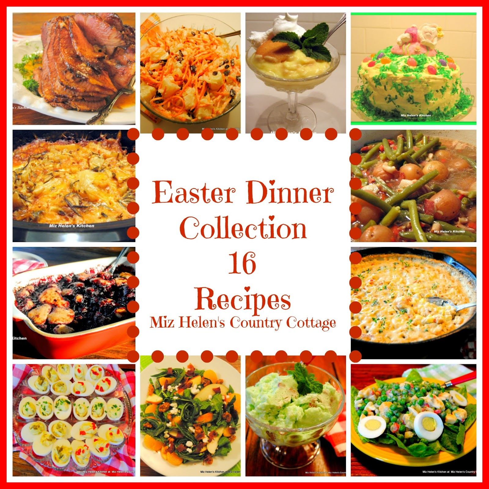 Dinner Ideas For Easter Sunday  Easter Dinner Recipe Collection