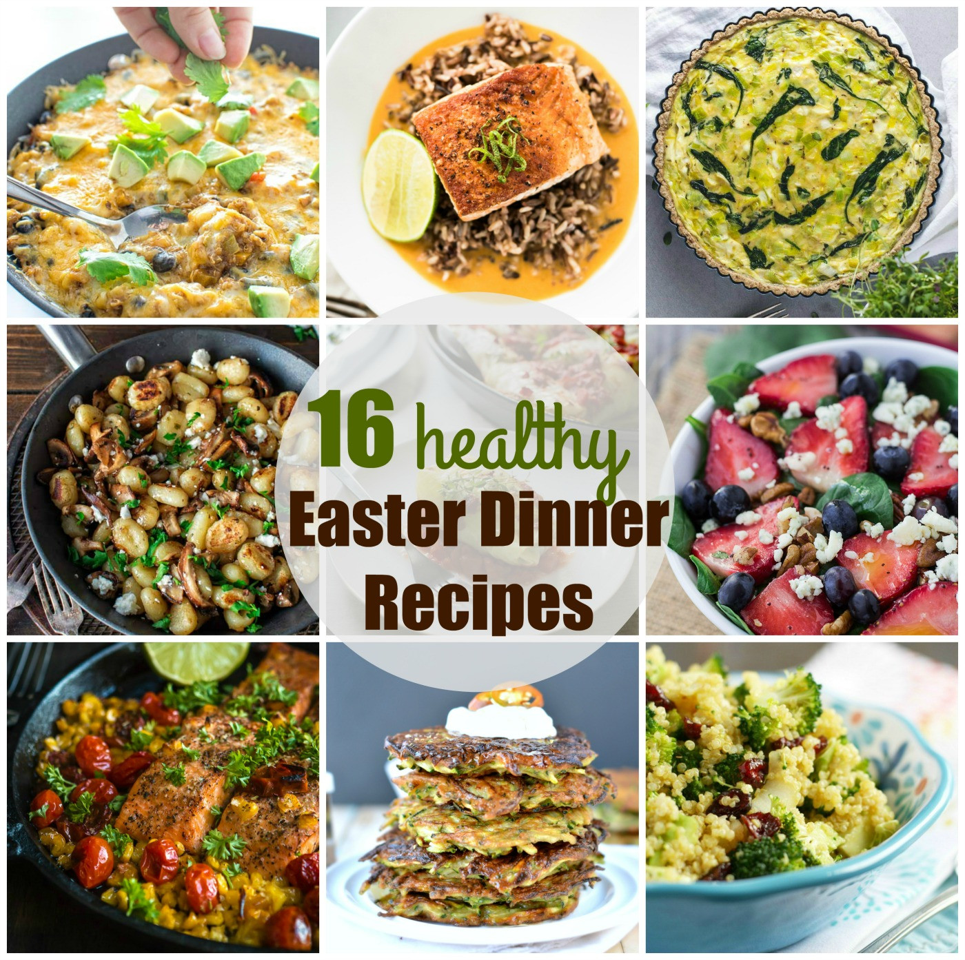 Dinner Ideas For Easter  Easter dinner recipes 16 Healthy easter recipes