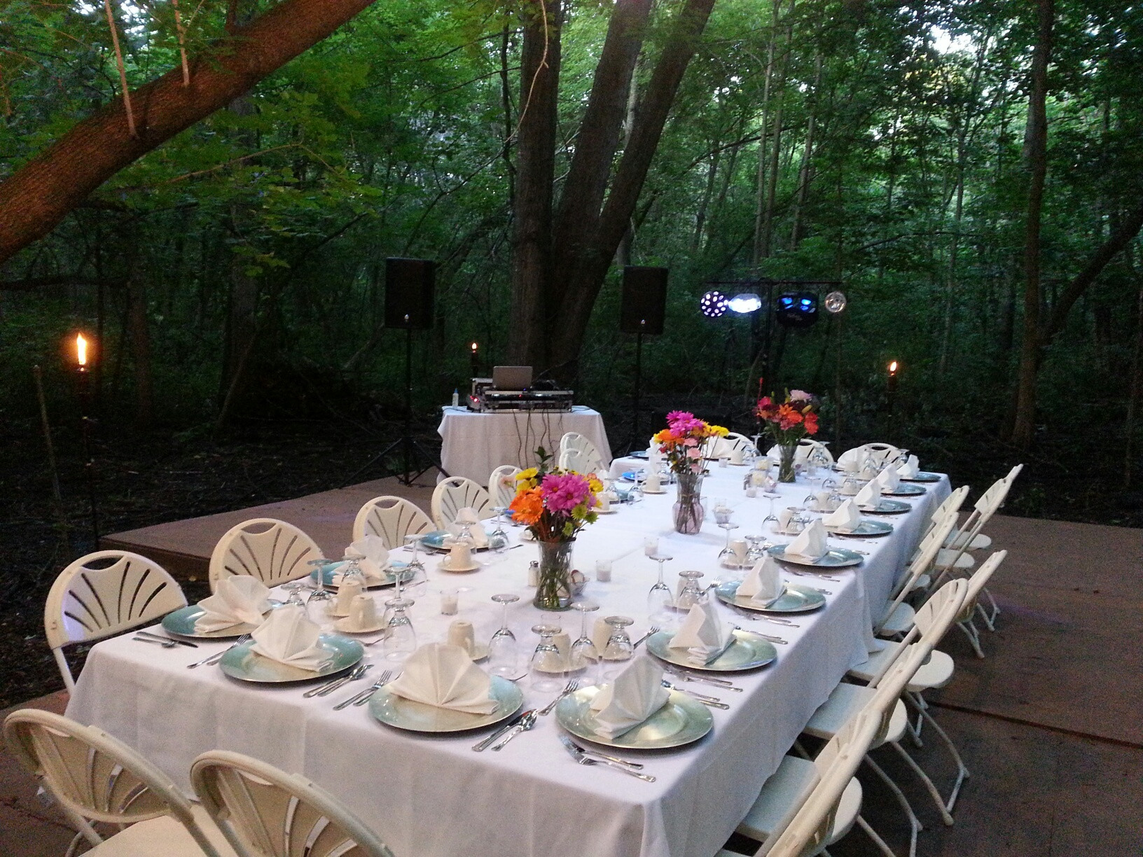 Dinner Music For Weddings  outdoor wedding dj dinner music minnesota minneapolis