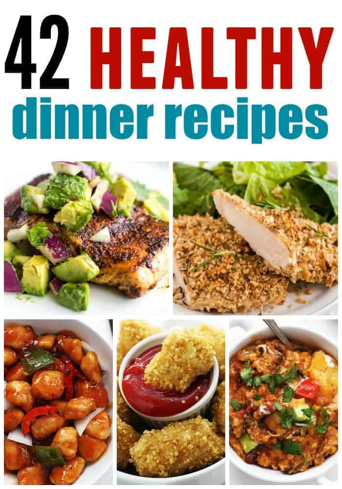 Dinner Recipe Healthy  Healthy Dinner Roundup