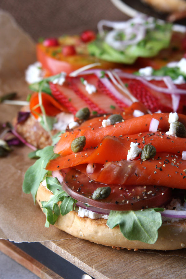 Dinners For Hot Summer Nights  Summer Smoked Salmon Sandwiches The Fed Up Foo