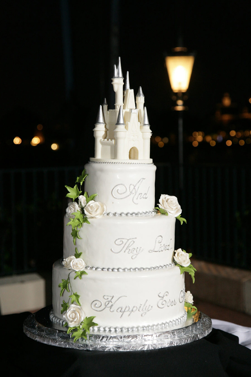 Disney Wedding Cakes  22 Wedding Cakes Fit for a Fairy Tale