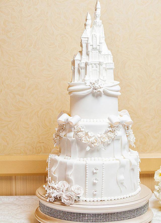 Disney Wedding Cakes  21 Wedding Cakes For Every Disney Lover