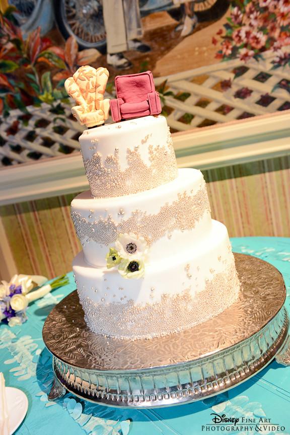 Disney Wedding Cakes  Disney Pixar Up Themed Wedding — The Knot