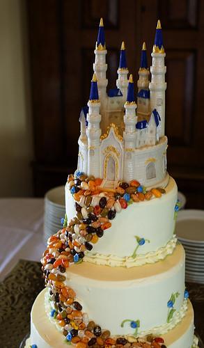 Disney Wedding Cakes  WeddingBlvd Disney Wedding Beauty & The Beast